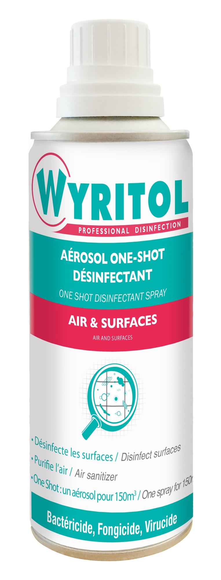 ONE SHOT DESINFECTANT AIR ET SURFACE (réf: PV56074301) Image