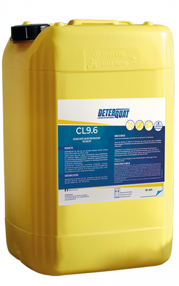 DETERQUAT CL9.6 Désinfectant Chloré Image
