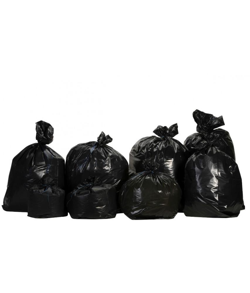 Sacs à déchets PE BD noir Image