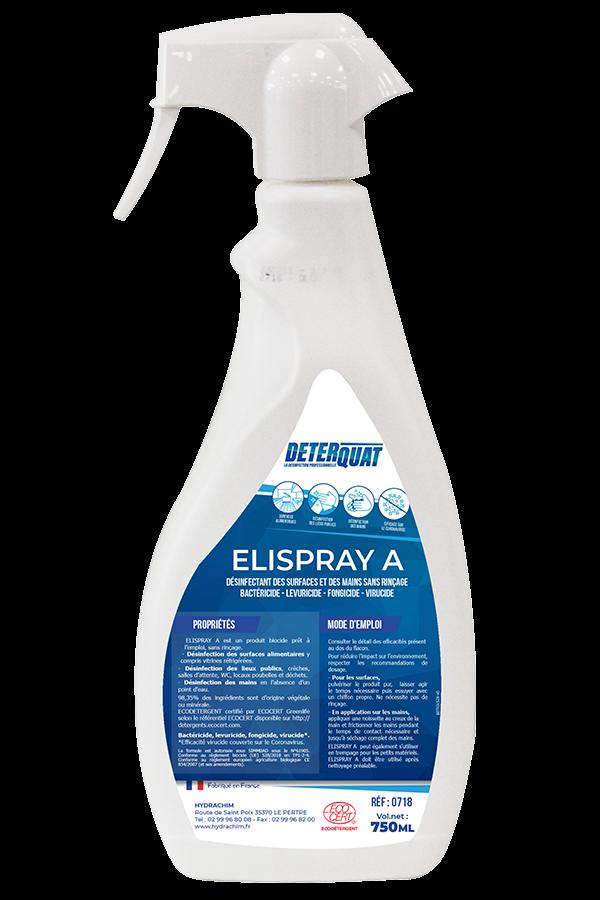 ELISPRAY A Désinfectant des surfaces sans rinçage. Image